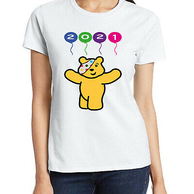 £9.49 • Buy Future Spotty Pudsey Bear T Shirt Children In Need Spot Charity Ladies Top 2021