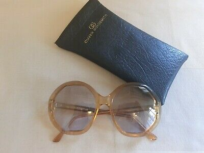 £100 • Buy True Vintage Oliver Goldsmith Sunglasses - 1970s - Rare 'Macsee' Style