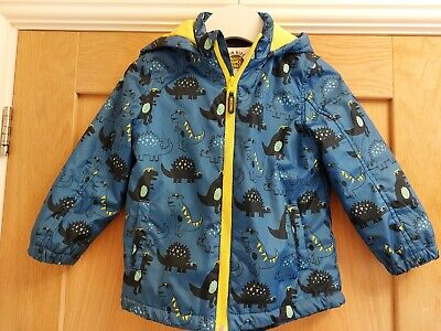 £2 • Buy Boys Dinosaur Pattern Coat Age 3-4 From Mothercare