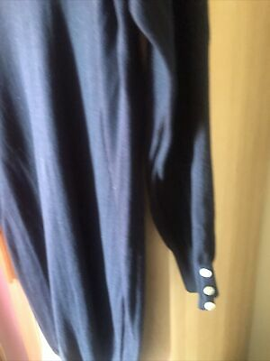 £4 • Buy Next~ Knitted Jumper Dress ~size 16 Blue