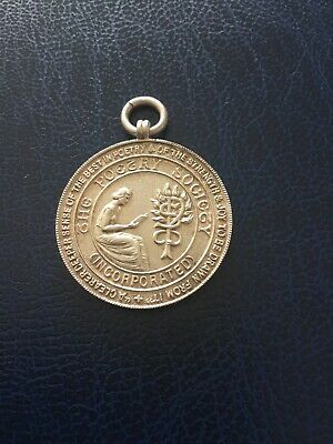 £7.99 • Buy Vintage Solid Silver Albert Chain Watch Fob Medal