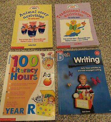£8.95 • Buy 100 Literacy Hours/Writing/Story Activities/Lessons (Reception/Eary Years)  USED