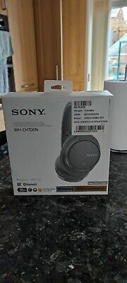 £30 • Buy Sony Wireless Bluetooth Noise Cancelling Headphones - Grey (WHCH700NH.CE7)