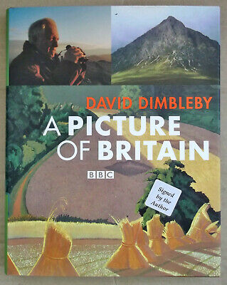 £2 • Buy David Dimbleby A Picture Of Britain BBC  - Signed By Author David Dimbleby