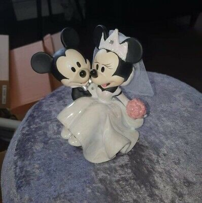£70 • Buy Mickey And Minnie Mouse Collectors Wedding Cake Topper / Ornament