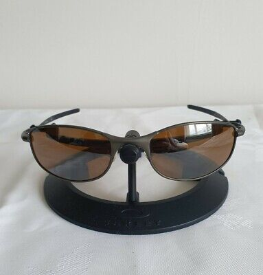 AU159.87 • Buy Oakley Tightrope Sunglasses Pewter Frame - Tungsten Lenses