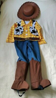 £13.50 • Buy Boys Woody Toy Story Dress Up/ Fancy Dress Costume Outfit 7-8 Yrs