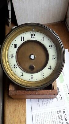 £9 • Buy French Brass Dial And Beshel Clock For Spares