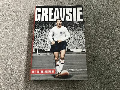 """£4.99 • Buy Jimmy Greaves Signed 2003 Autobiography """"greavsie"""" Hb Book First Edition"""