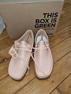£40 • Buy Clarks Wallabee 2 Light Pink Size UK7 New Boxed, New £110