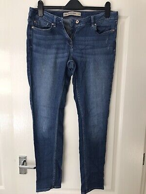 £6 • Buy Next Relaxed Skinny Jeans Size 10 Regular