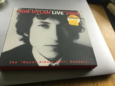 £5.99 • Buy BOB DYLAN - LIVE 1966 : THE  ROYAL ALBERT HALL  CONCERT  2xcd Plus Booklet