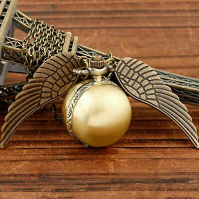 £1.30 • Buy Harry Potter Snitch Pocket Watch Pendant Necklace Steampunk Quidditch Clock