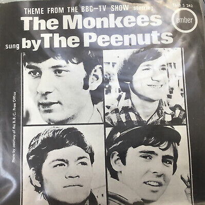 £49.99 • Buy Theme From BBC-TV Show 'The Monkees' By The Peenuts EMBER PROMO EMBS242
