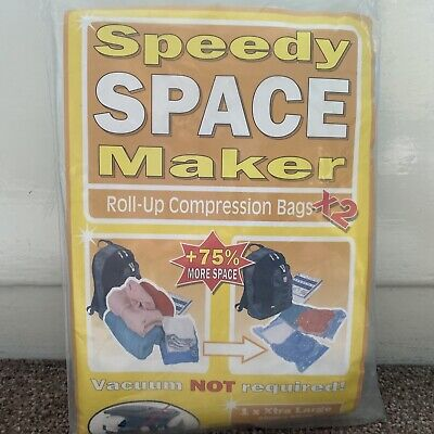 £2.99 • Buy Speedy Space Maker Roll Up Compression Bags Storage Bag Size Large