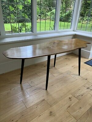 £75 • Buy Solid Yew Coffee Table Beautiful Wood 49 1/2in L. X 19in W. X 19in H