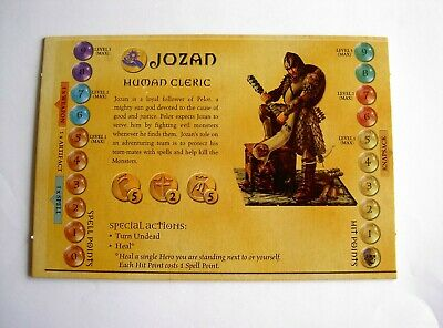 AU7.50 • Buy #949 Dungeons And Dragons Boardgame Parker 2003 Spares - Hero Board Jozan