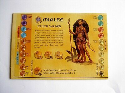 AU7.50 • Buy #948 Dungeons And Dragons Boardgame Parker 2003 Spares - Hero Board Mialee