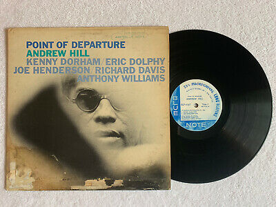 £12.80 • Buy ANDREW HILL Point Of Departure Blue Note BLP 4167 OG NY Ear Mono RVG Eric Dolphy