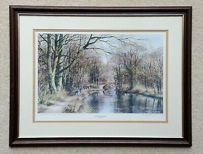 £40 • Buy Terry Harrison Numbered And Signed Print - Kings Head Frimley Basingstoke Canal