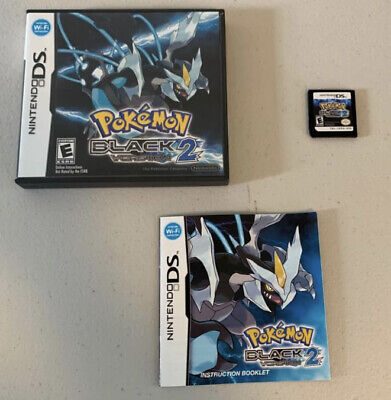 $149.99 • Buy Pokemon: Black 2 (Nintendo DS, 2012) Complete, Authentic, Tested DS Not Included