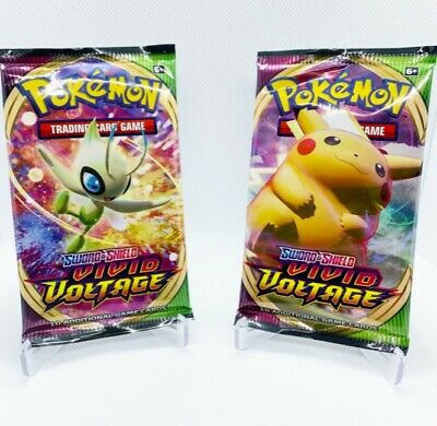 $13.99 • Buy [2x PACKS] VIVID VOLTAGE Booster Pack. Factory Sealed From Box Pokemon Cards
