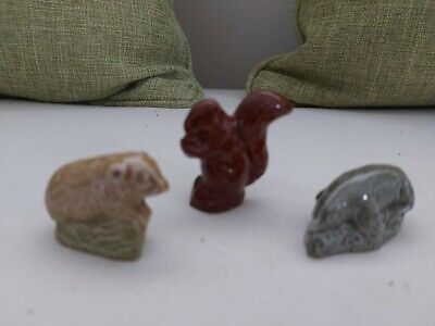 £2 • Buy 3 X WADE Whimsies Squirrel And Two Others.