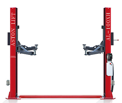 £535.07 • Buy Aston 10,000lbs 2 Post Car Lift Two Post Auto Lift SINGLE POINT LOCK RELEASE