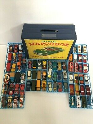 AU273.64 • Buy Matchbox 72 Car Deluxe Collector's Case -  With 72 Matchbox And Corgi Models