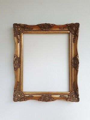 £35 • Buy Vintage Rococo Baroque Gold Gilt Wooden Picture Frame For A 20  X 16  Picture