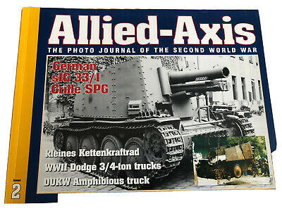 £6 • Buy Allied-Axis Photo Journal Of The Second World War Issue 2