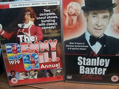 £7.99 • Buy The Stanley Baxter Collection & The Benny Hill Annual 1979. 2 X UK PAL DVD's.