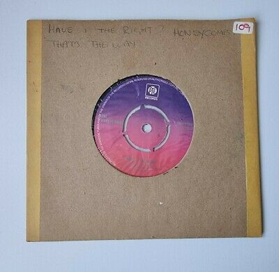 £1.99 • Buy The Honeycombs - Have I The Right / Thats The Way - 7  Vinyl Single - 1965 PYE