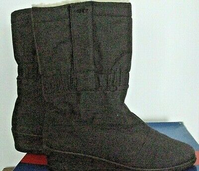 £16 • Buy Rohde Germany Sympatex Wool Lined Boots 6 Wedge Brown (see Also Grey!)