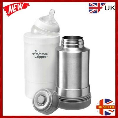 £14.89 • Buy Tommee Tippee Closer To Nature Baby Bottle Food Warmer Flask Compact Travel New