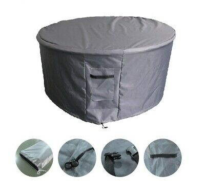 AU62.73 • Buy Outdoor Heavy Duty 5 Piece Round Table Setting Furniture Cover - Ø190 X 80cm(H)
