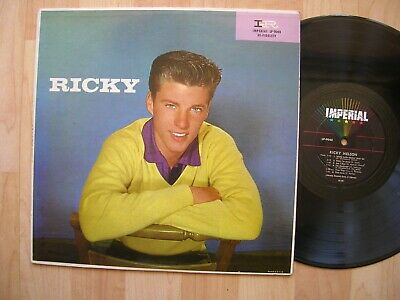 £7.31 • Buy RICKY NELSON Imperial LP 9048 Orig 1957 1st Press Rock RARE