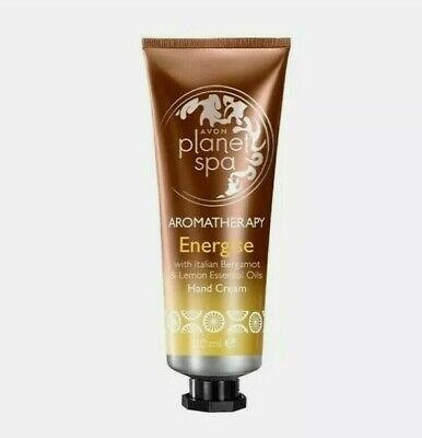 £5 • Buy Avon Planet Spa Aromatherapy Energise Hand Cream With Essentials Oils - 30ml