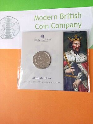 £4.99 • Buy 2021 Alfred The Great BU £5 Coin.