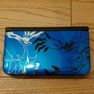 $128.99 • Buy Nintendo 3DS LL XL Pokemon Limited Xerneas Yveltal Blue Console Only