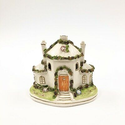 £27.50 • Buy A Large And Very Pretty Staffordshire Cottage Flatback Pastille Burner C.1855