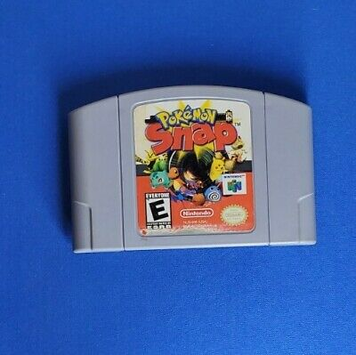 $27.50 • Buy Pokemon Snap N64 (64, 1999) Authentic, Cleaned & Working Nice Label Awesome!
