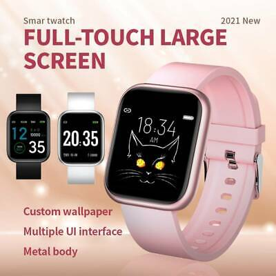 AU31.99 • Buy Fitbit Smart Watch Heart Rate Blood Pressure Monitor, ECG, Call , Sports 2021