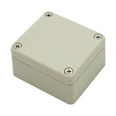£3.30 • Buy Sealed ABS Plastic Enclosure Multipurpose Electronic Project Box IP65 64x58x35mm