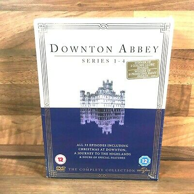 £12.99 • Buy Downtown Abbey The Complete Collection DVD Series 1-4 Box Set