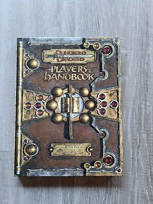 AU55 • Buy DUNGEONS AND DRAGONS Player's Handbook Core Rulebook I V 3.5