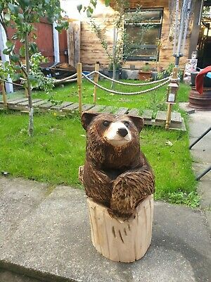 £150 • Buy Chainsaw Carving Bear