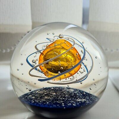 £35 • Buy Vintage Selkirk Scotland Guardian 1995 Glass Paperweight Limited Edition