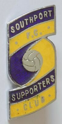 £9.99 • Buy Vintage Southport FC - Football Supporters Club Enamel Lapel Badge.