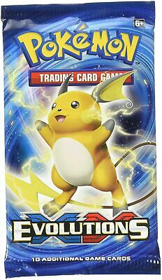 $11.50 • Buy Pokemon XY Evolutions 2016 Booster Pack 10 Cards Unweighed New Factory Sealed